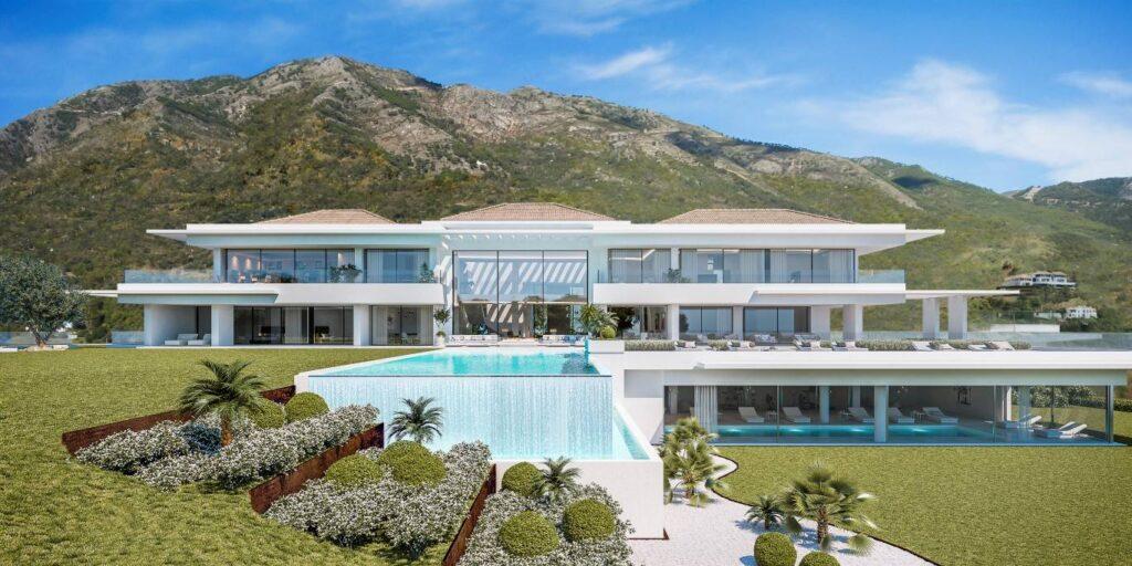 Contemporary style villa in the exclusive LA ZAGALETA country estate - Spain