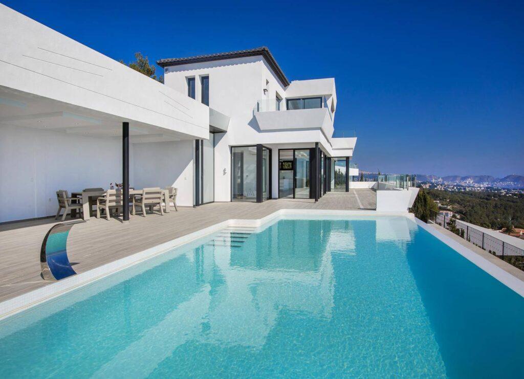Newly built luxury villa in Costa Benissa - Spain