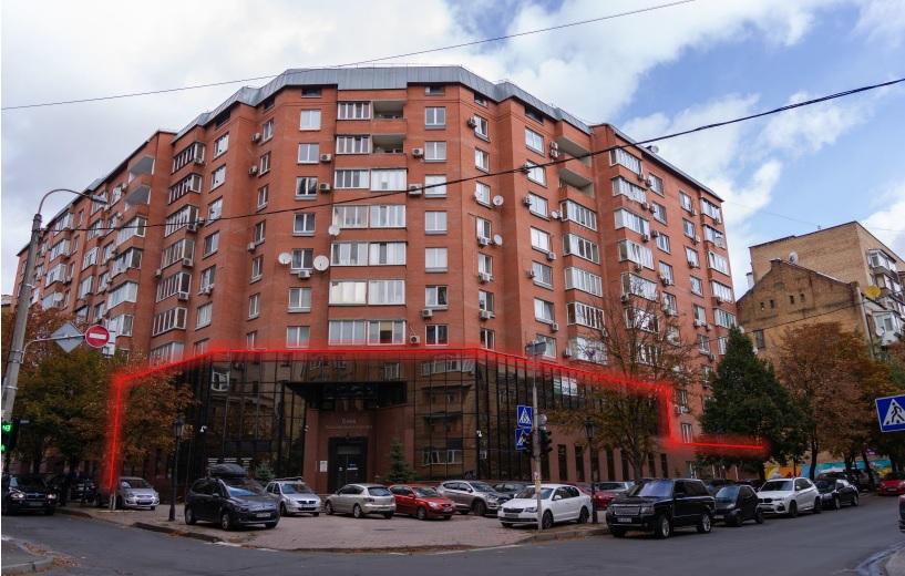 Part of freestanding office building in Kiev - Ukraine