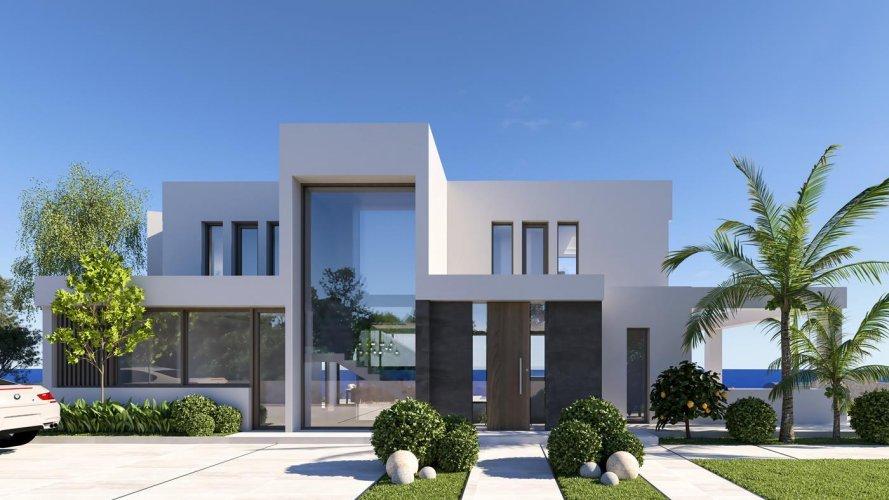 Newly built modern luxury seaside villa in Benissa - Spain