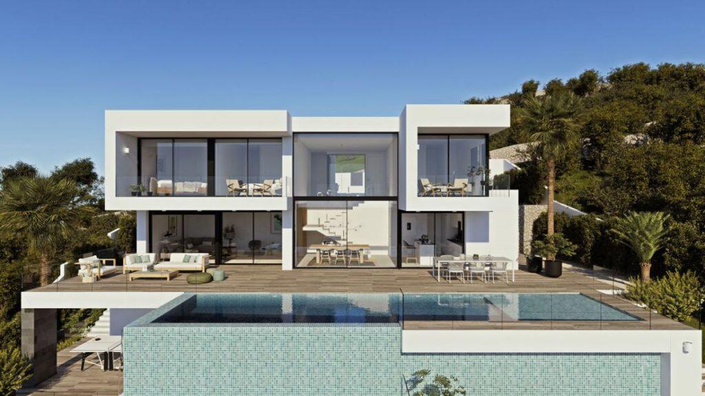 Luxury villa in Cumbre del Sol - Spain