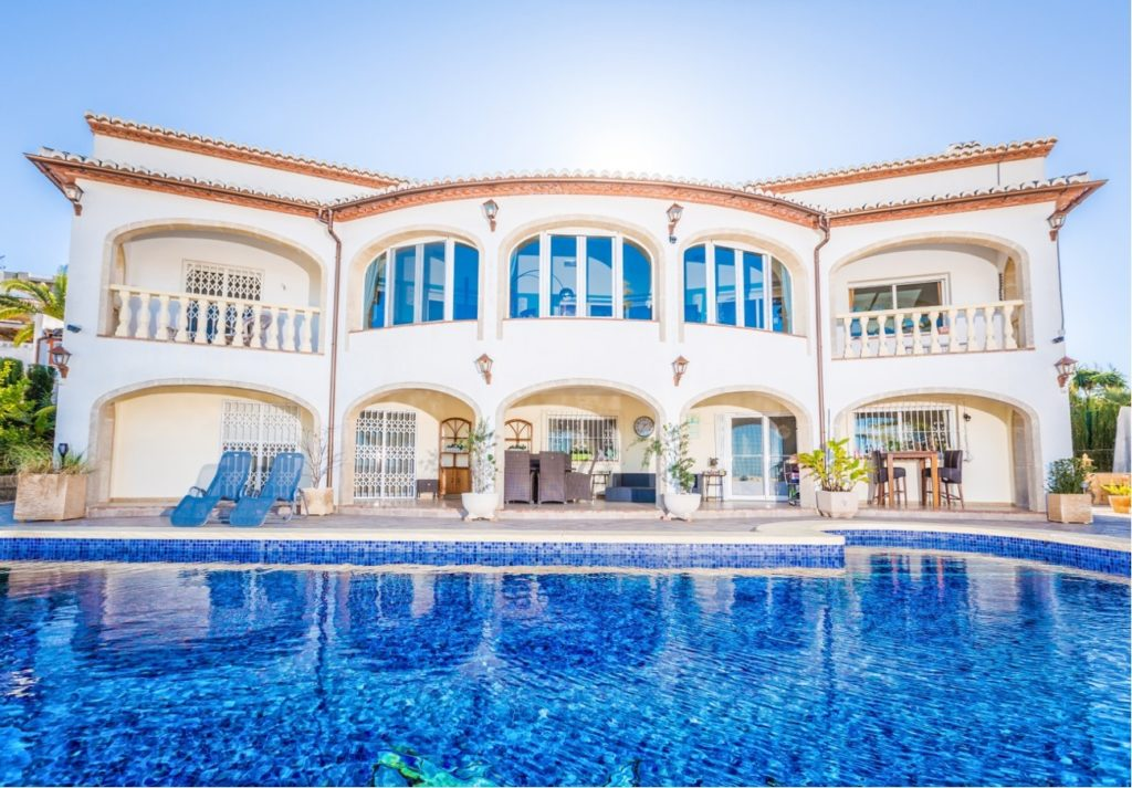 High quality villa with stunning sea views over bay of Javea - Spain