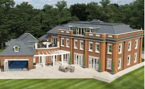 6 Bed Mansion in Surrey - United Kingdom