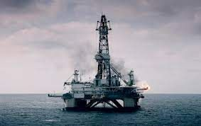 Marine oil drilling rights
